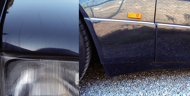 車の汚れ写真2